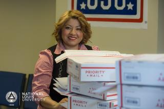 May Month of Service USO of Illinois Care Package Program by CEC & Veterans Resource Center Pic 2 2016