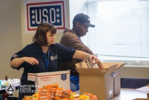 May Month of Service USO of Illinois Care Package Program by CEC & Veterans Resource Center Pic 5 2016