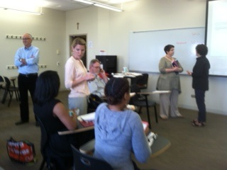 SLCEC Civic Education Summer Institute Loyola University 6-23-16 Day 1 Pic 1