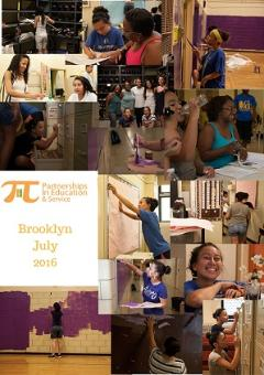 PIES Brooklyn NY Service Trip Collage 2016
