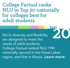 College Factual Ranks NLU Top 20 Best Colleges for Adult Students